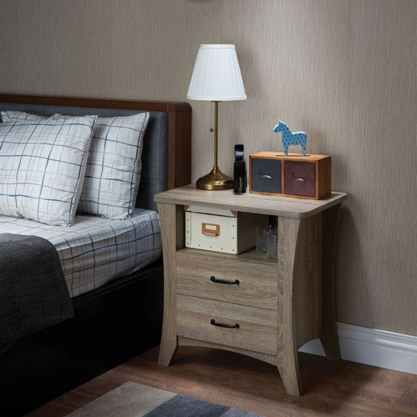 My Decor Center - Colt Nightstand (Rustic Natural)