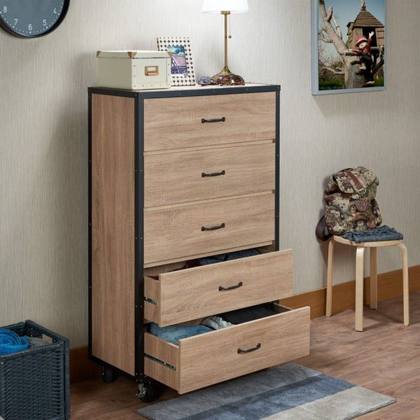 My Decor Center - Bemis Chest (Weathered Light Oak)