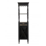 My Decor Center - Anthony Wine Cabinet (Antique Finish)
