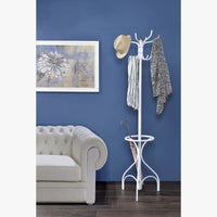 My Decor Center - Bobbi Coat Rack (White)