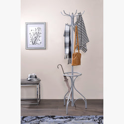 My Decor Center - Free Shipping - Acme Furniture, Bobbi - Coat Rack (Silver)