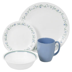 Livingware 16-Piece Set, Service for 4, Country Cottage