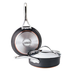 Nouvelle Copper 3-Pc Cookware Set