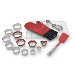 16-Pc Cookie Accessory Set