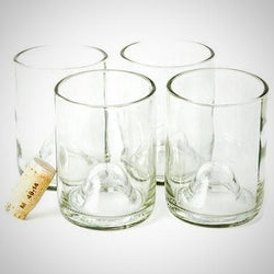 My Decor Center - Free Shipping - Wine Punts, Clear 12oz - The Original Wine Punts