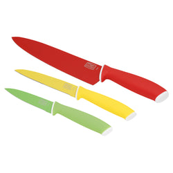 Vivid 3-Pc Chef/Utility/Parer Set