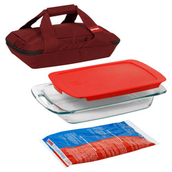 Portables 4-Pc Set (Red)
