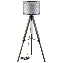 Fortune Floor Lamp (Antique Silver)