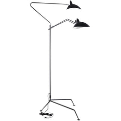 View Stainless Steel Floor Lamp (Black)