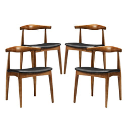 Tracy Dining Chairs Set of 4 (Black)