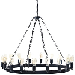 "Teleport 43"" Chandelier (Brown)"