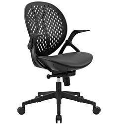 Stellar Vinyl Office Chair (Black)