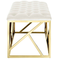 Intersperse Bench (Gold Ivory)