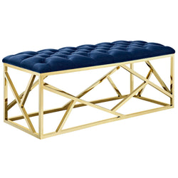 Intersperse Bench (Gold Navy)