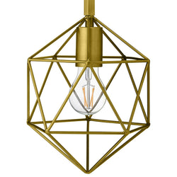 Derive Brass Wall Sconce Light Fixture ()
