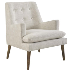 Leisure Upholstered Lounge Chair (Beige)