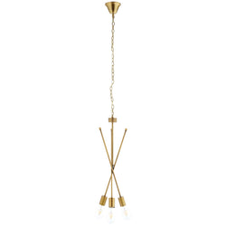 Strive Brass Pendant Chandelier ()