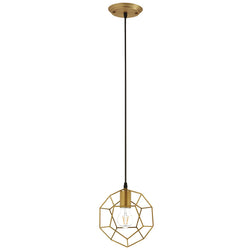 Pique Rose Gold Metal Ceiling Fixture ()