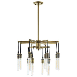 Resolve Antique Brass Ceiling Light Pendant Chandelier ()