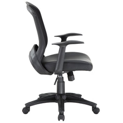 Pulse Vinyl Office Chair (Black)