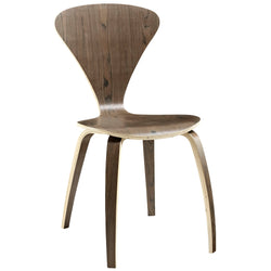Vortex Dining Side Chair (Dark Walnut)