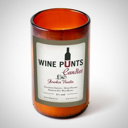 My Decor Center - Free Shipping - Wine Punts, Bourbon Vanilla Scent - Wine Punt Candle
