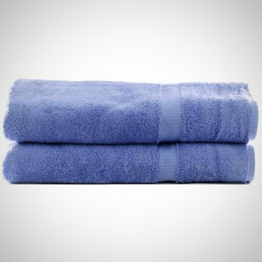 Luxe Blueberry Cotton Bath Sheets