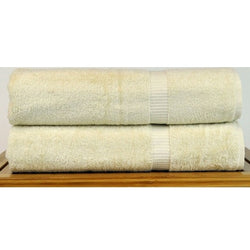 Luxe Cream Cotton Bath Sheets