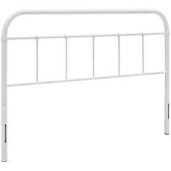 Serena Full Steel Headboard (White)
