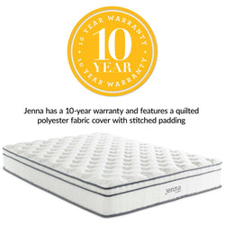 "Jenna 10"" King Innerspring Mattress ()"