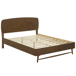 Talwyn Queen Wood Bed (Chestnut)