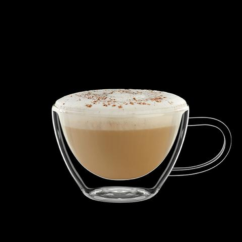 My Decor Center Thermic Cappucino Drinking Glasses