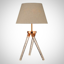 My Decor Center - Free Shipping - Acme Furniture, Cici - Table Lamp (Rose Gold)