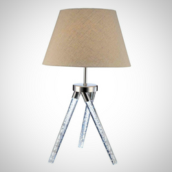 My Decor Center - Free Shipping - Acme Furniture, Cici - Table Lamp (Chrome)