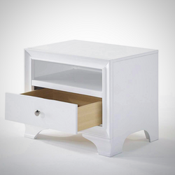 My Decor Center - Free Shipping - Acme Furniture, Blaise - Nightstand 1 Drawer (White)