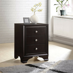 My Decor Center - Free Shipping - Acme Furniture, Blaise - Nightstand 3 Drawer (Espresso)