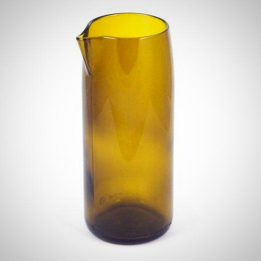 Olive - Flat Bottom Carafe