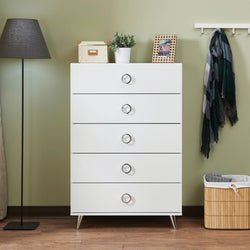 My Decor Center - Free Ground Shipping - Acme Furniture, Chest, Elms - Chest (White Chrome)