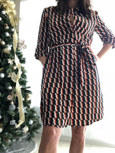 Checker Shirt Dress