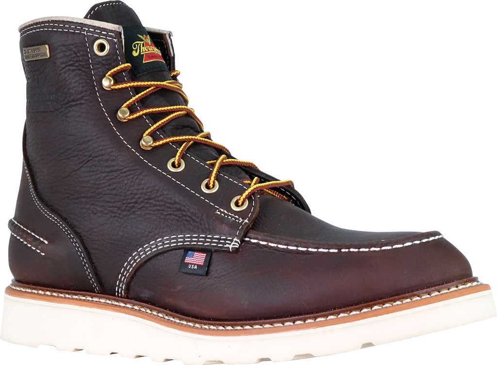 40e0be22dcb Thorogood Boots 804-3600 Steel Toe Waterproof 6