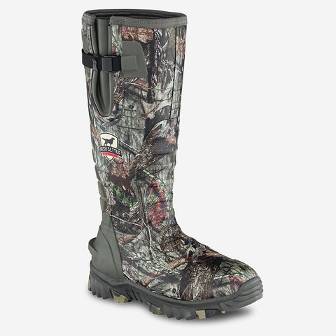 Irish Setter by Red Wing Shoes 4883 Rutmaster 2.0 Men's 17-Inch Waterproof Neoprene/Rubber Insulated Mossy Oak® Camo Pull-On Boot
