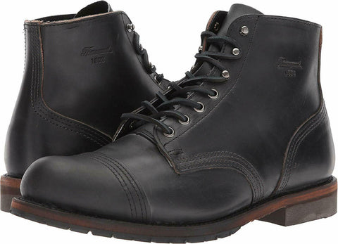 1892 by Thorogood Shoes 814-6013 Dodgeville Black Boots - Made In USA