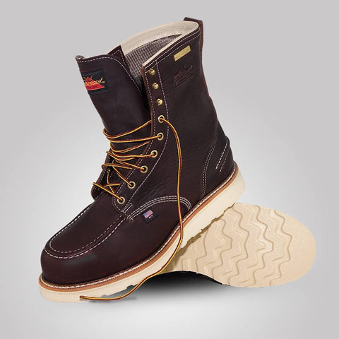 dbcb7f38439 Thorogood Boots 804-3800 Steel Toe Waterproof 8