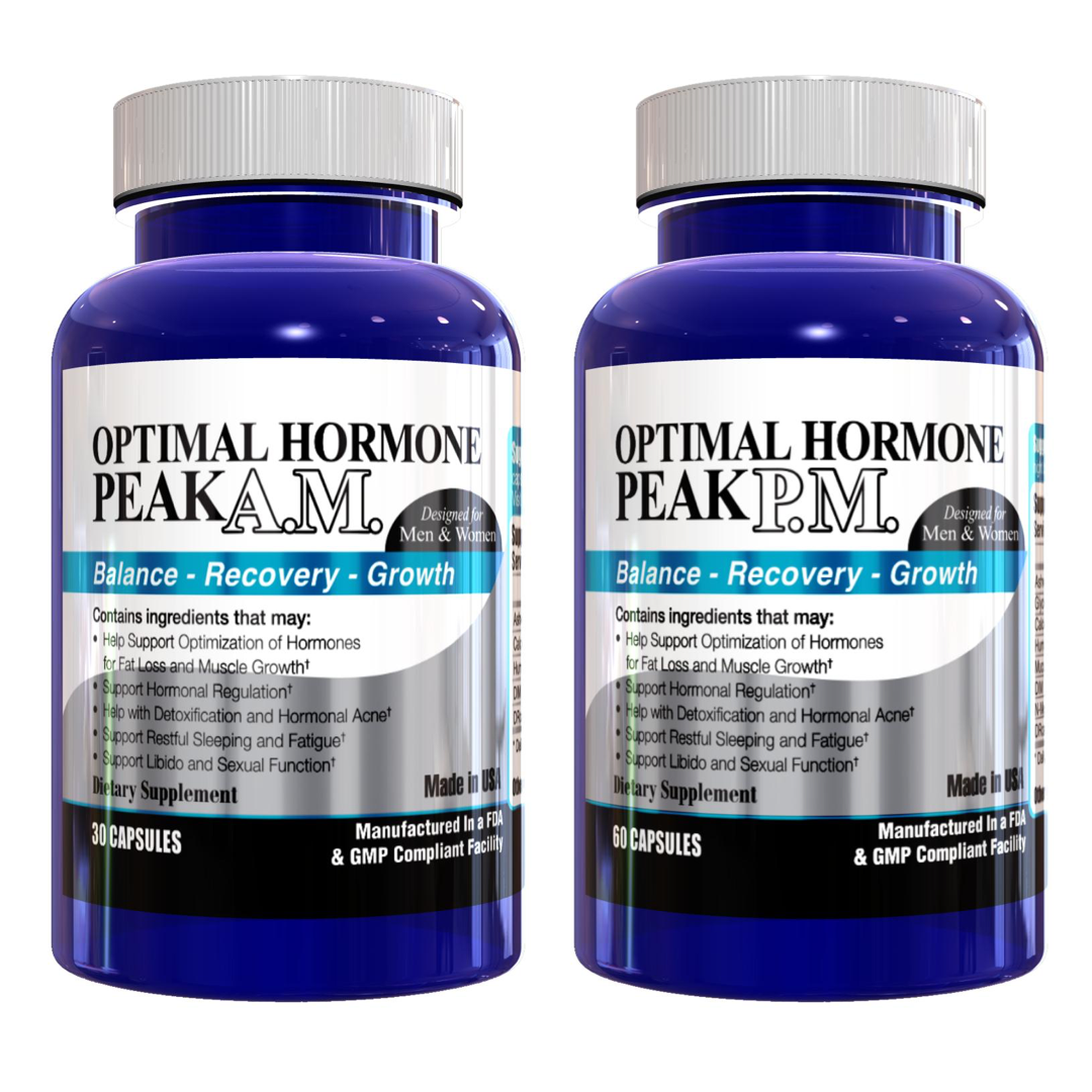 Optimal Hormone Peak A.M. & P.M.