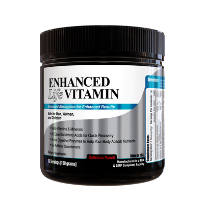 Enhanced Life Vitamin ( Delicious Punch)