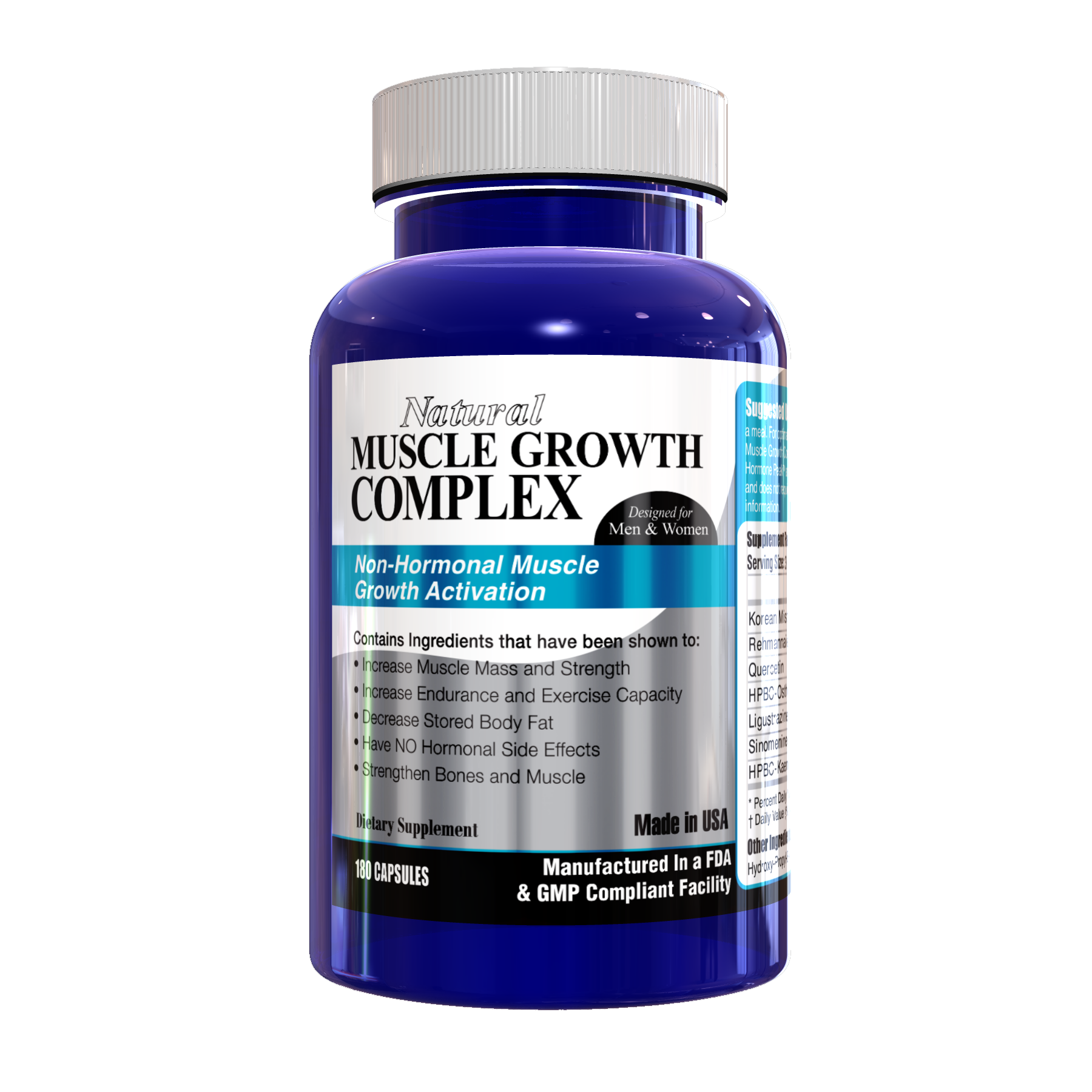Natural Muscle Growth Complex