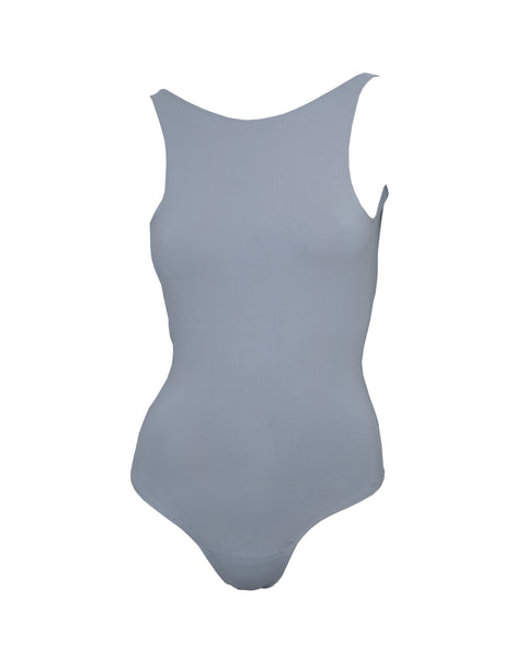 high expectations bodysuit in cool grey