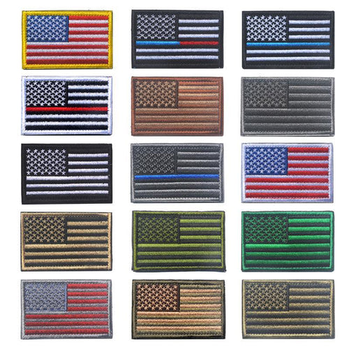 3D Embroidery AMERICAN Flag Patch