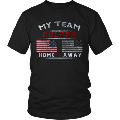 TEAM COLORS SHIRT/HOODIE