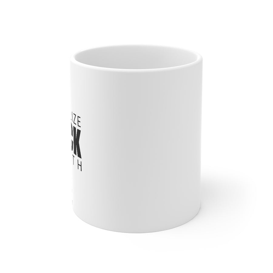 Normalize Black Wealth Mug 11oz